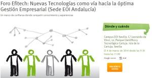 Foro Efitech- EOI Andalucía
