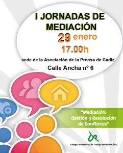 Cartel Jornadas de Mediacion